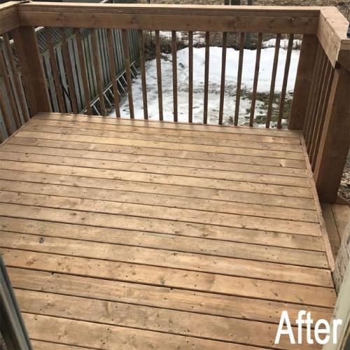 Deck Repair After